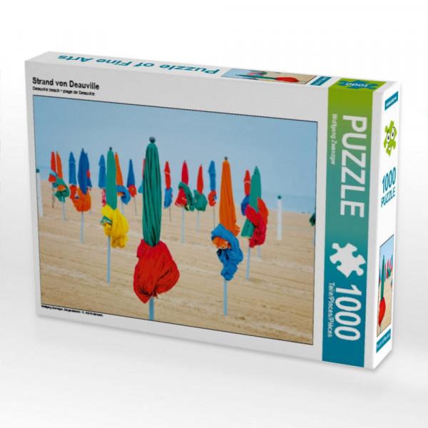 Puzzle Strand von Deauville