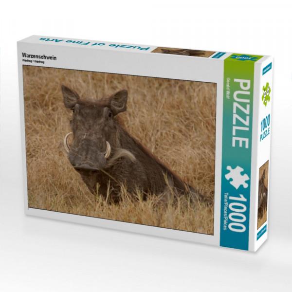 Puzzle Warzenschwein
