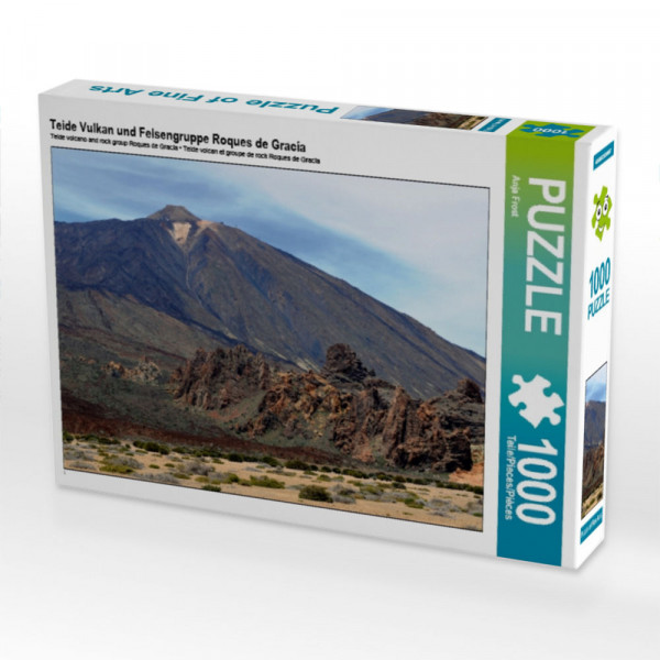 Puzzle Teide Vulkan und Felsengruppe Roques de Gracía
