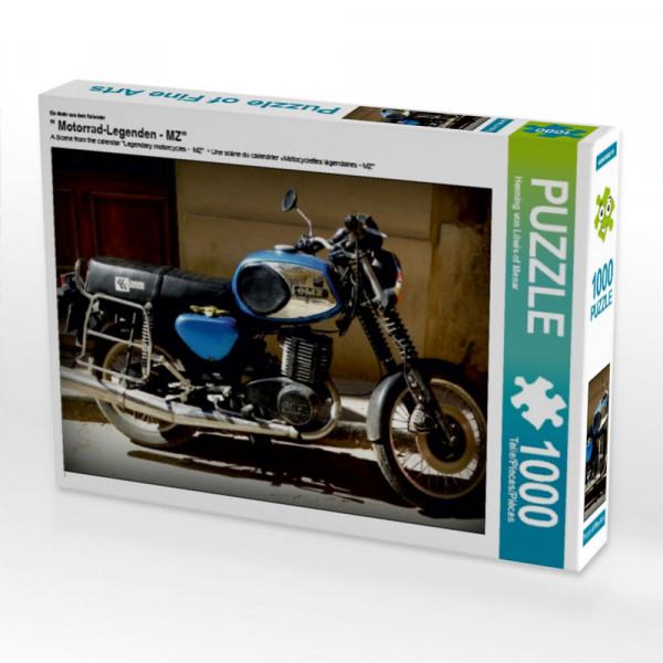 Puzzle Motorrad-Legenden - MZ