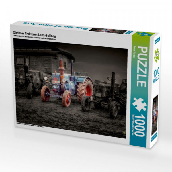Puzzle Oldtimer Traktoren Lanz-Bulldog