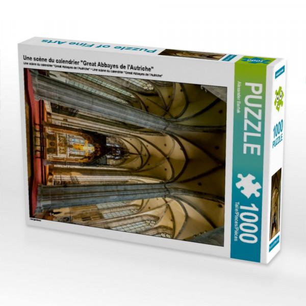 Puzzle Une scène du calendrier Great Abbayes de lAutriche