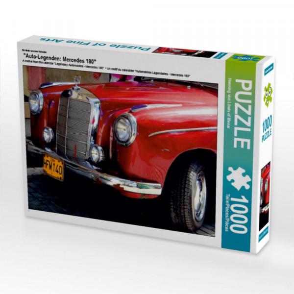 Puzzle Auto-Legenden: Mercedes 180