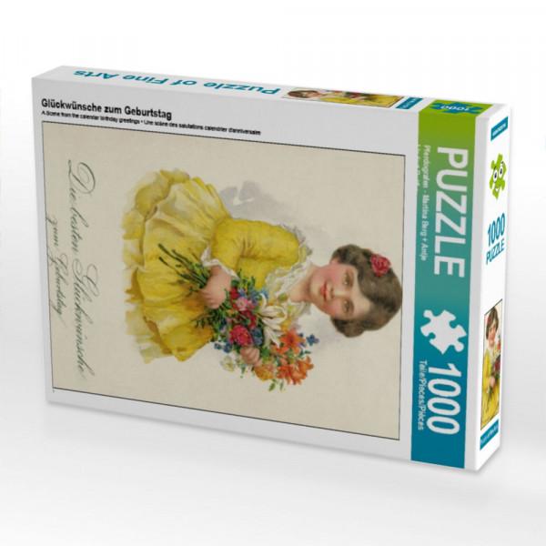 Puzzle Glückwünsche zum Geburtstag