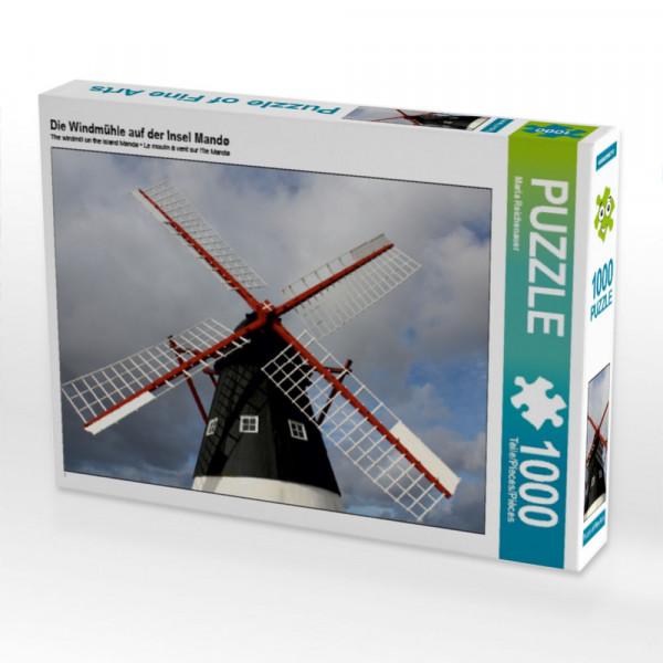 Puzzle Die Windmühle auf der Insel Mandø