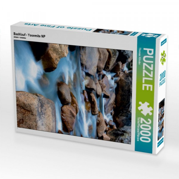 Puzzle Bachlauf - Yosemite NP 2000 Teile Puzzle hoch Motiv 1 Bild 1