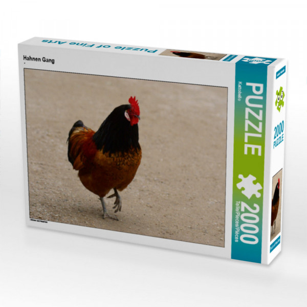 Puzzle Hahnen Gang Foto-Puzzle Bild von
