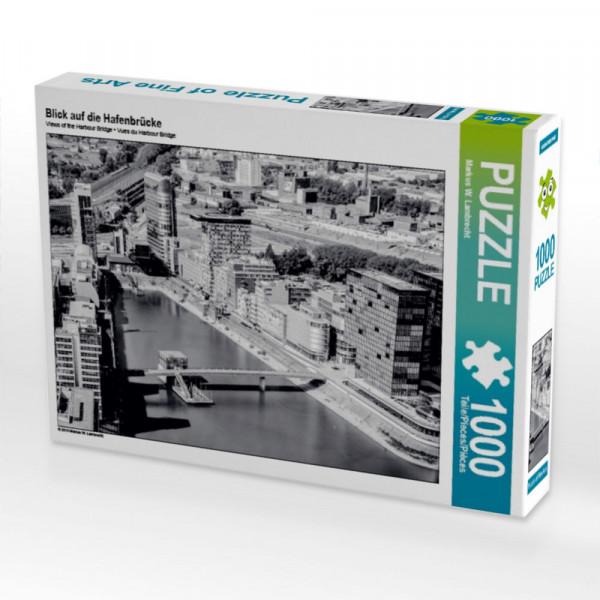 Puzzle Blick auf die Hafenbrücke