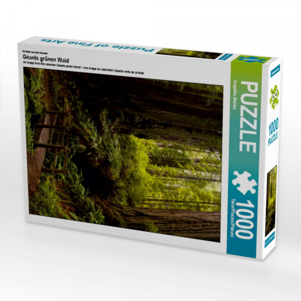 Puzzle Redwood National and States Park