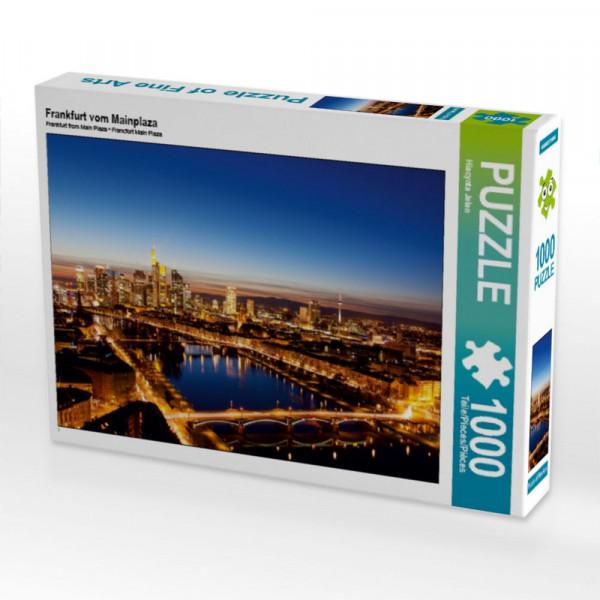 Puzzle Frankfurt vom Mainplaza