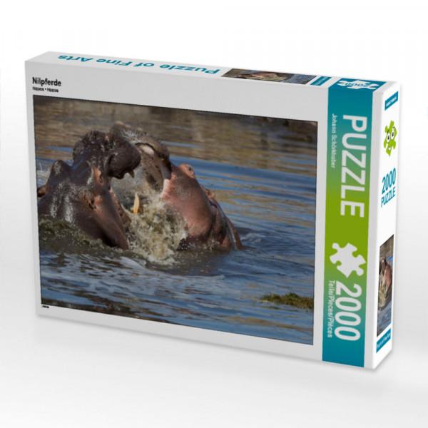 Puzzle Nilpferde Foto-Puzzle Bild von Schörkhuber Johann