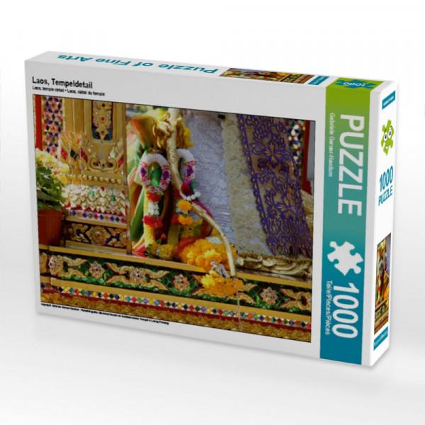 Puzzle Laos Tempeldetail