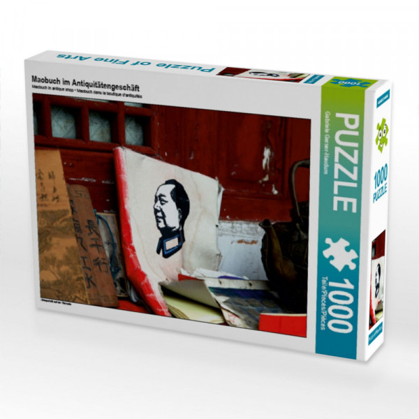 Puzzle Maobuch im Antiquitätengeschäft