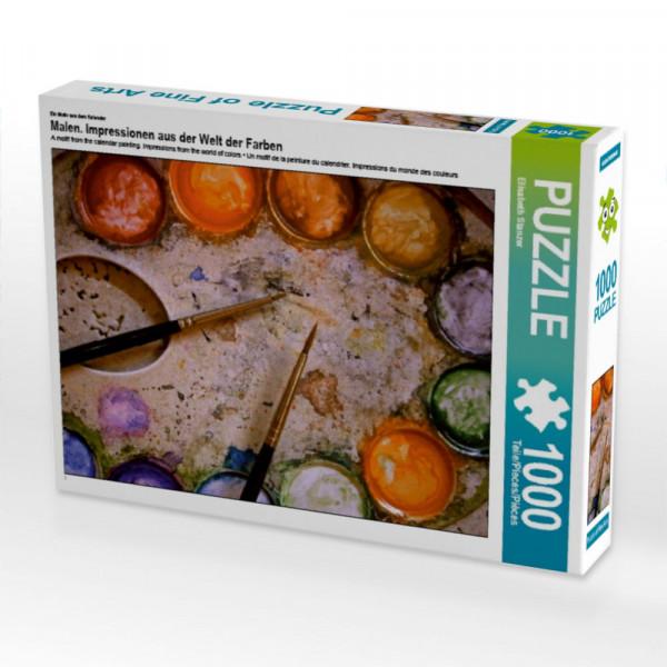 Puzzle Malen. Impressionen aus der Welt der Farben