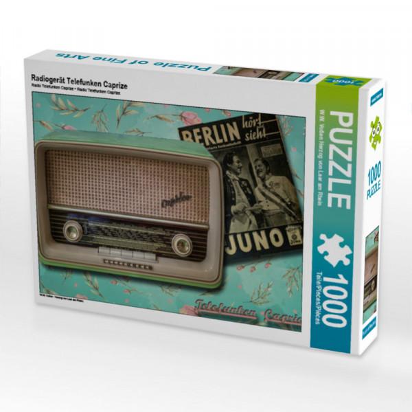 Puzzle Radiogerät Telefunken Caprize