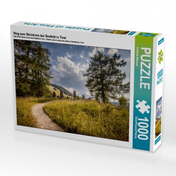 Puzzle Weg zum Steinkreis bei Seefeld in Tirol