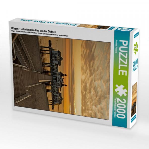 Puzzle Rügen - Urlaubsparadies an der Ostsee Foto-Puzzle Bild von Potratz Andrea