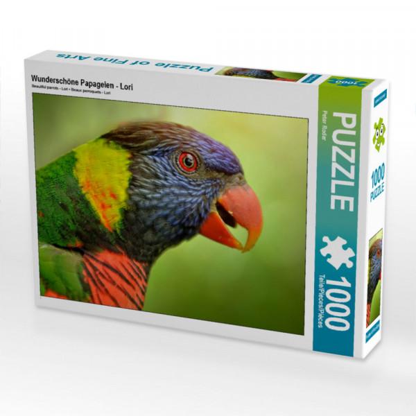 Puzzle Wunderschöne Papageien - Lori