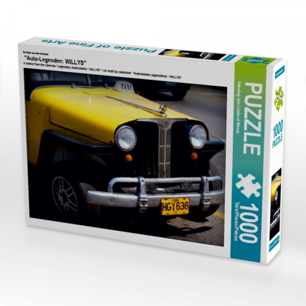 Puzzle Auto-Legenden: WILLYS
