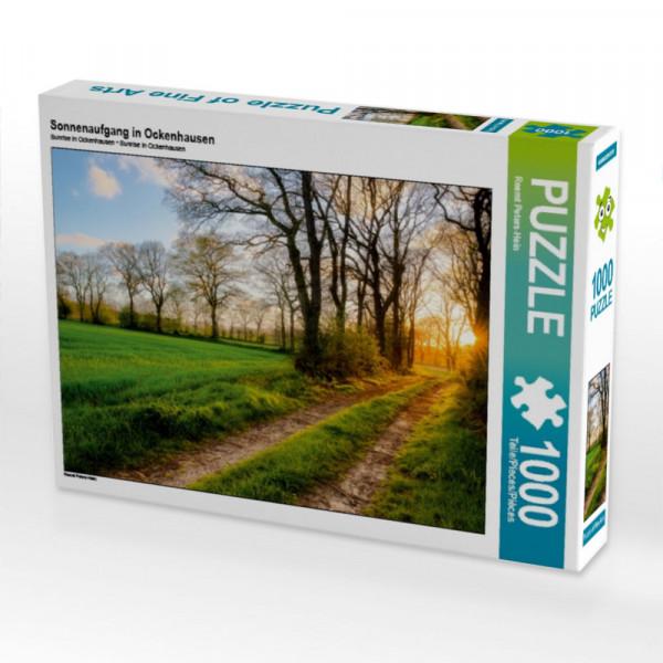 Puzzle Sonnenaufgang in Ockenhausen