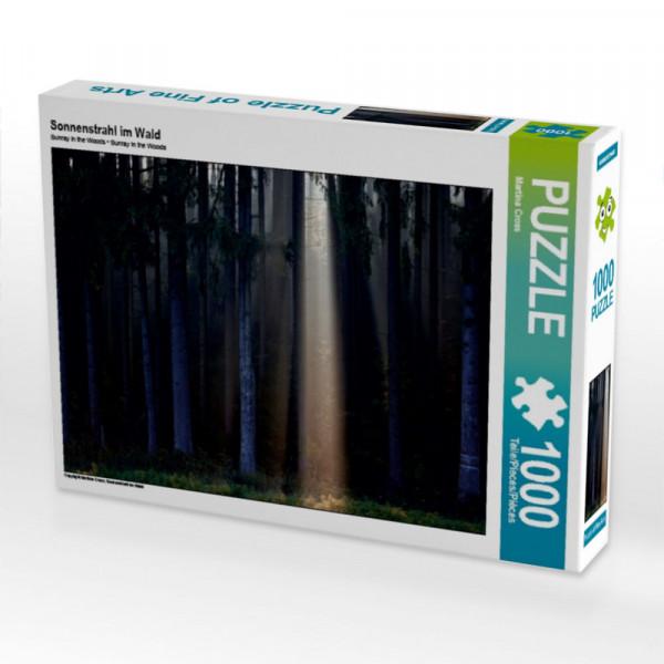 Puzzle Sonnenstrahl im Wald