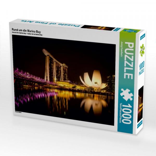 Puzzle Rund um die Marina Bay