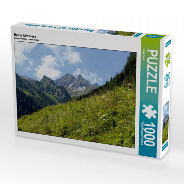 Puzzle Berglandschaft Schwarzachtal in Tirol
