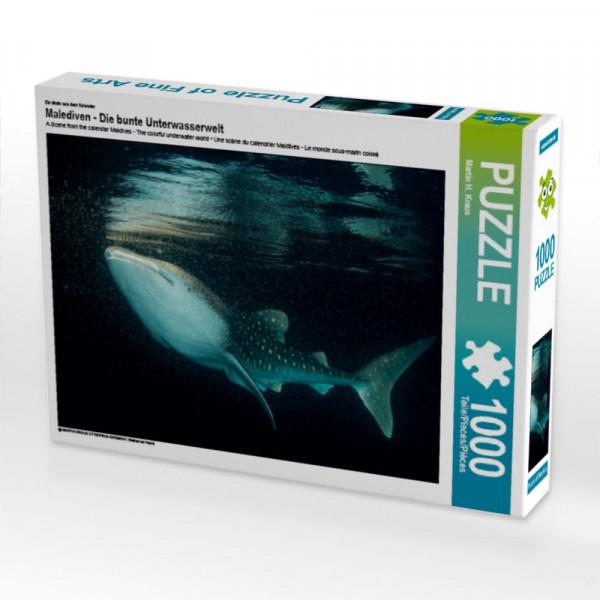 Puzzle Malediven - Die bunte Unterwasserwelt