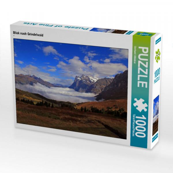Puzzle Blick nach Grindelwald