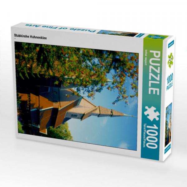 Puzzle Stabkirche Hahnenklee