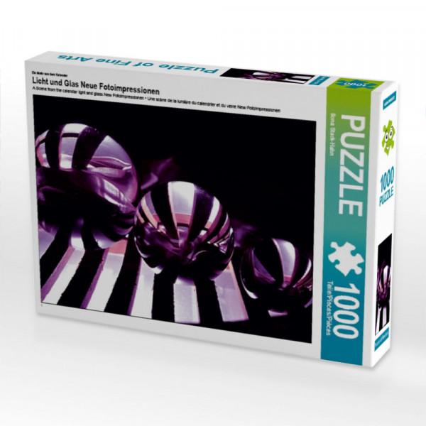 Puzzle Licht und Glas Neue Fotoimpressionen