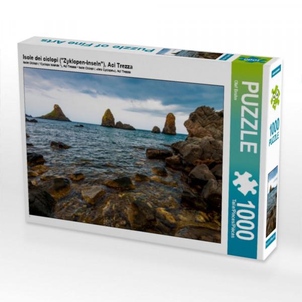 Puzzle Isole dei ciclopi Zyklopen-Inseln Aci Trezza