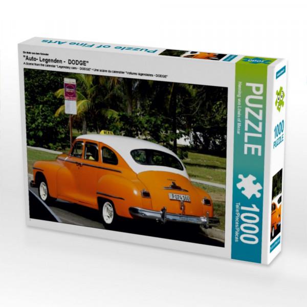 Puzzle Auto- Legenden - DODGE