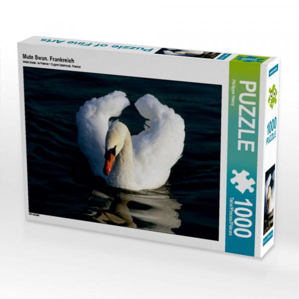 Puzzle Mute Swan. Frankreich