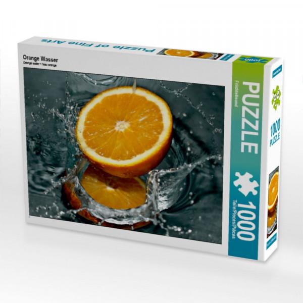 Puzzle Orange Wasser