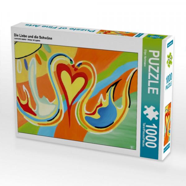 Puzzle Die Liebe und die Schwäne