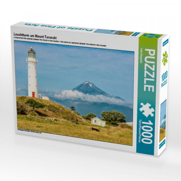 Puzzle Leuchtturm am Mount Taranaki