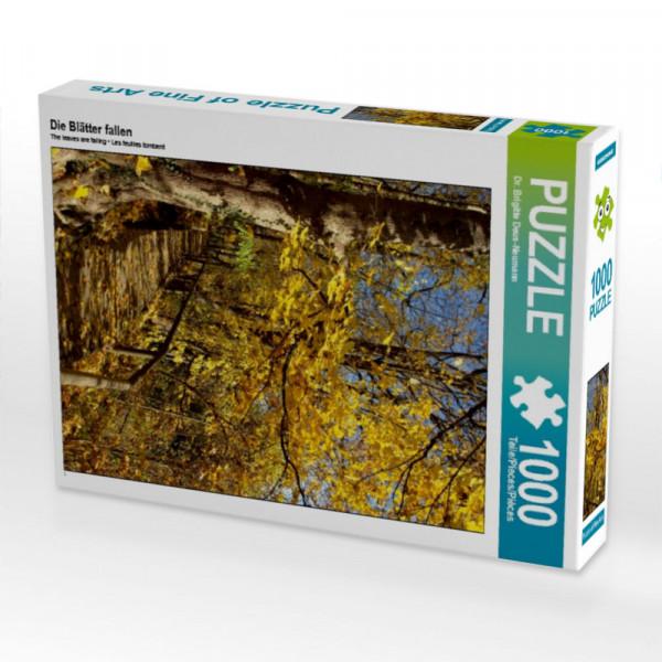 Puzzle Die Blätter fallen