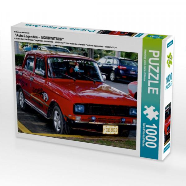 Puzzle Auto-Legenden - MOSKWITSCH