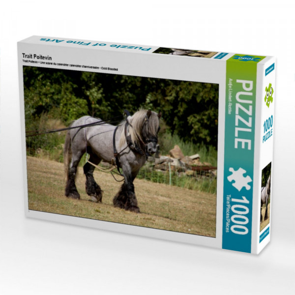 Puzzle Trait Poitevin