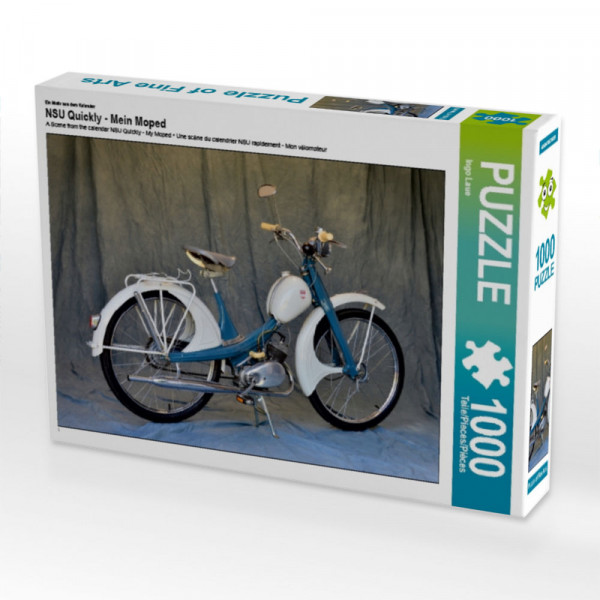 Puzzle NSU Quickly - Mein Moped