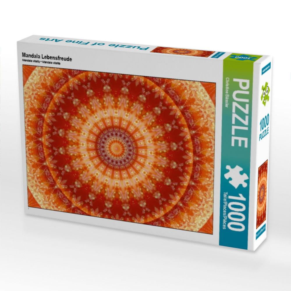 4059478418844 Mandala Furchtlosigkeit 1000 Teile Puzzle quer