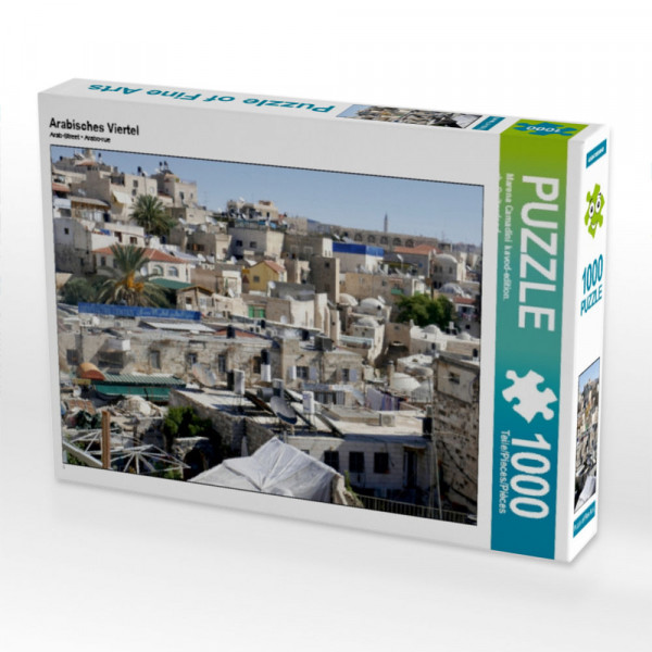 Puzzle Arabisches Viertel