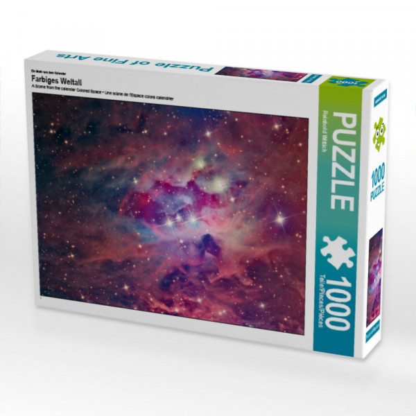 Puzzle Farbiges Weltall