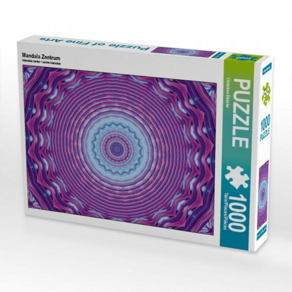 Puzzle Mandala Zentrum