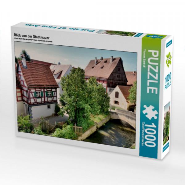 Puzzle Blick von der Stadtmauer