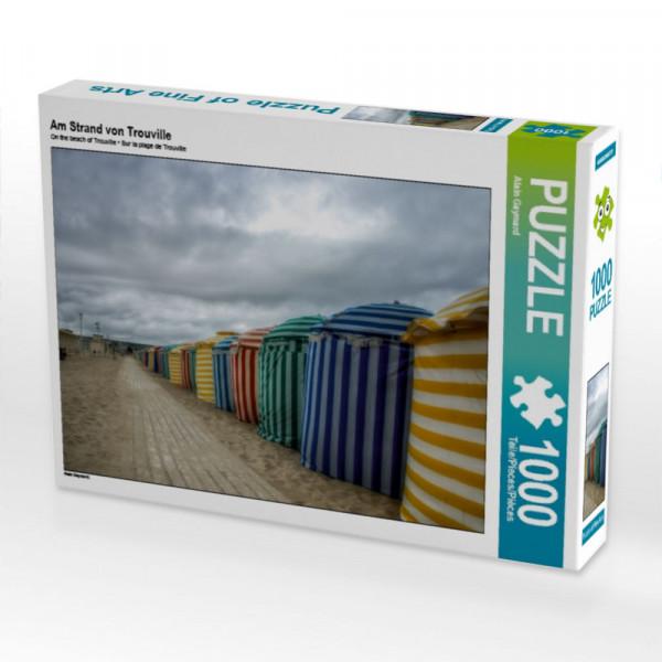 Puzzle Am Strand von Trouville
