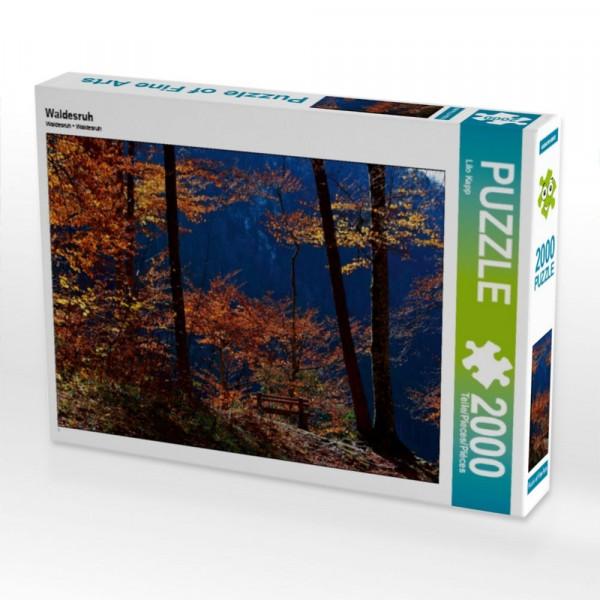 Puzzle Waldesruh 2000 Teile Puzzle quer Motiv 1 Bild 1