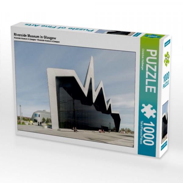 Puzzle Riverside Museum in Glasgow