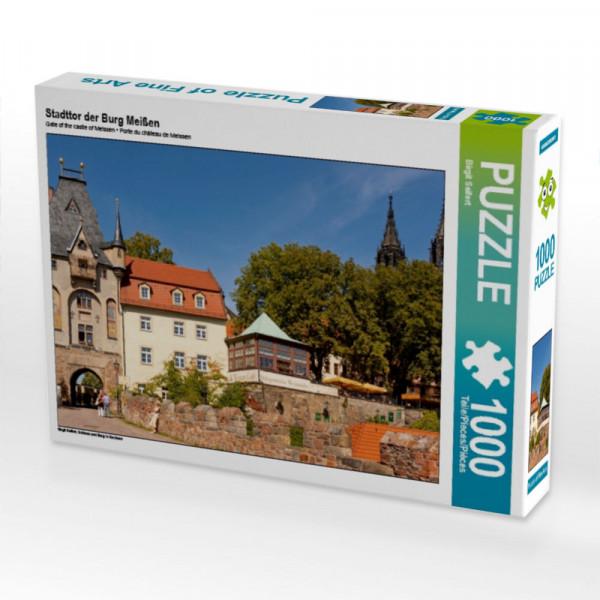 Puzzle Stadttor der Burg Meißen
